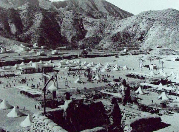 Rodaje de 'Lawrence de Arabia' en Almería (1962)