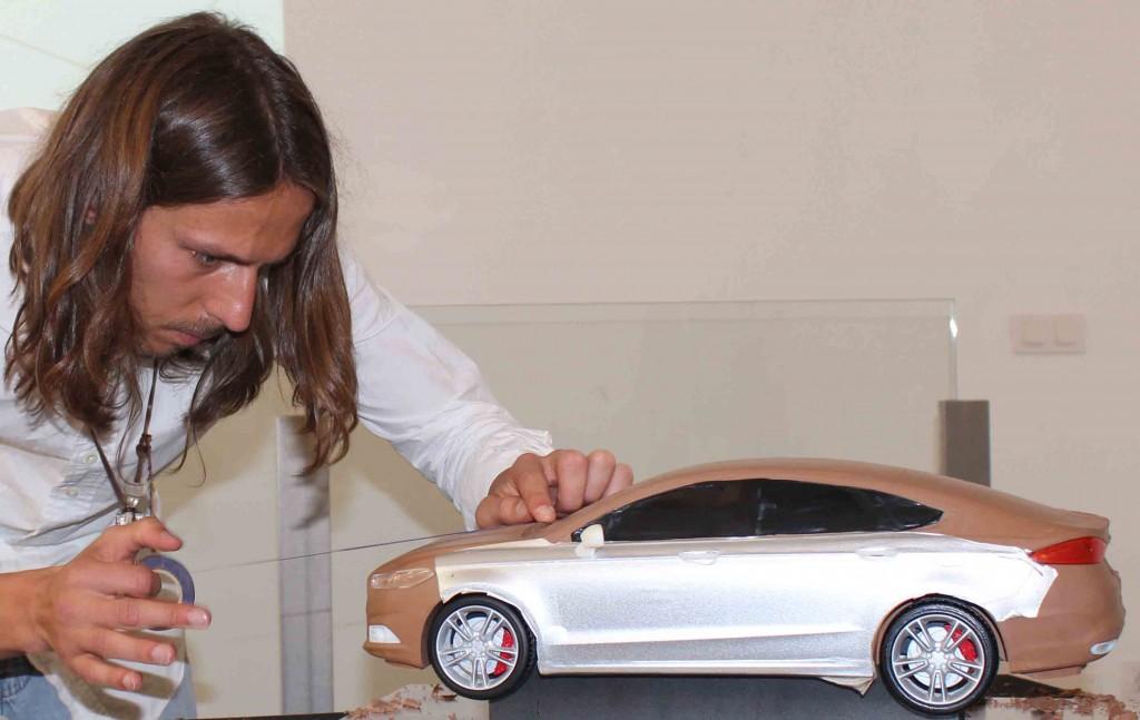 damian lottner clay modelling