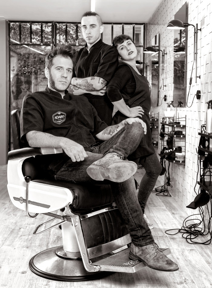 Equipo de 'Alvaro The Barber'