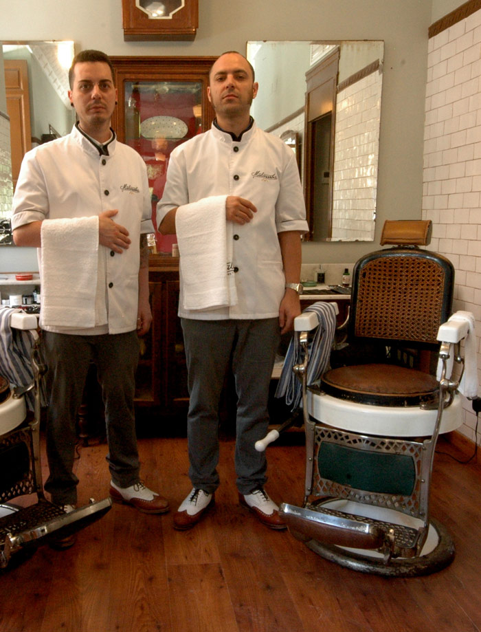 Equipo de la Barbería Malayerba