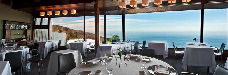San Sebastián, monte Igueldo, restaurante Akelarre