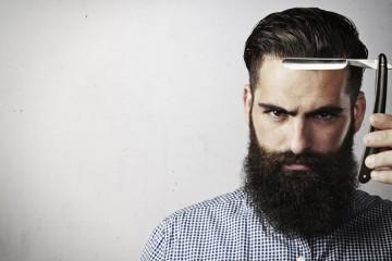 hombre barba