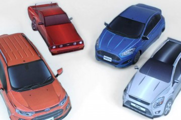 papercraft ford