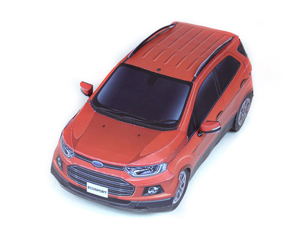 papercraft_ford ecosport
