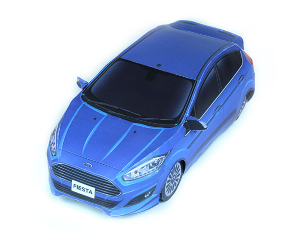 papercraft_ford fiesta