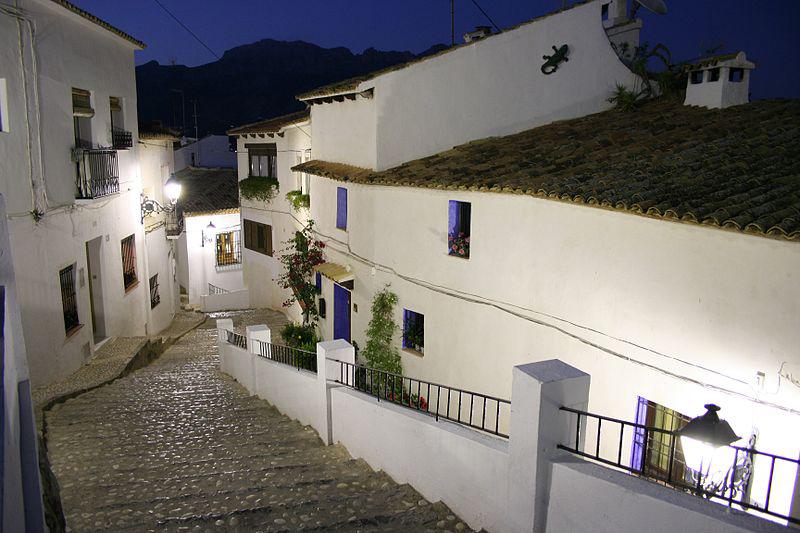 Barrio antiguo de Altea
