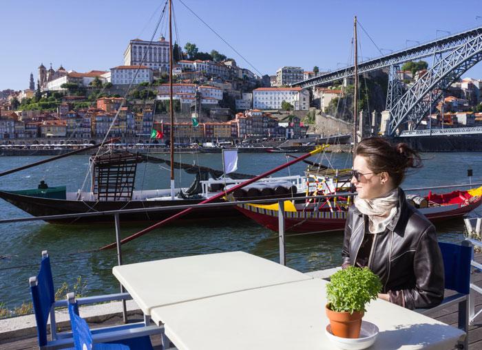 Paisagem do Douro no Porto