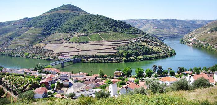 Vista do Douro em Pinhão