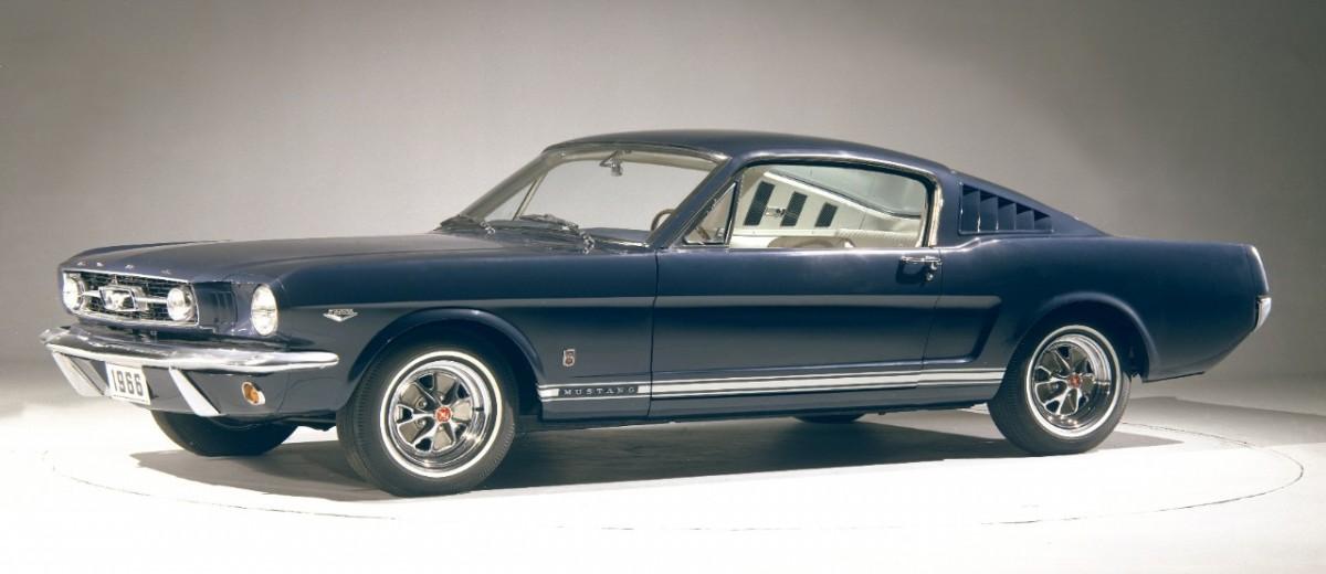 Ford Mustang GT fastback de 1966