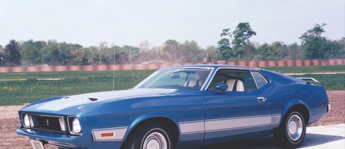 Ford Mustang Mach1 de 1973