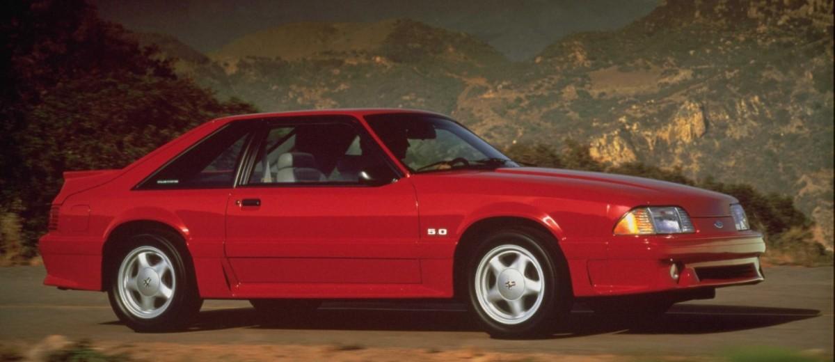 Ford Mustang Hatchback de 1991
