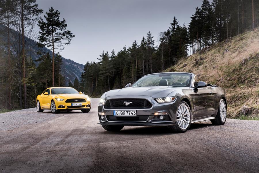 Modelos de Ford Mustang de 2015