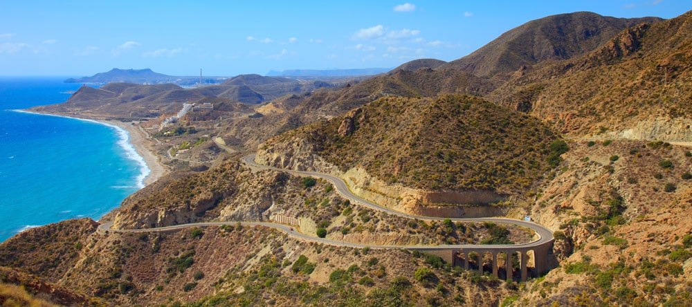 Carretera de San José a Cabo de Gata, Almería (España) / iStock