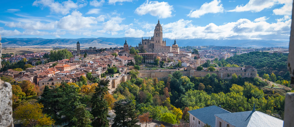 Vista de Segovia (iStock)