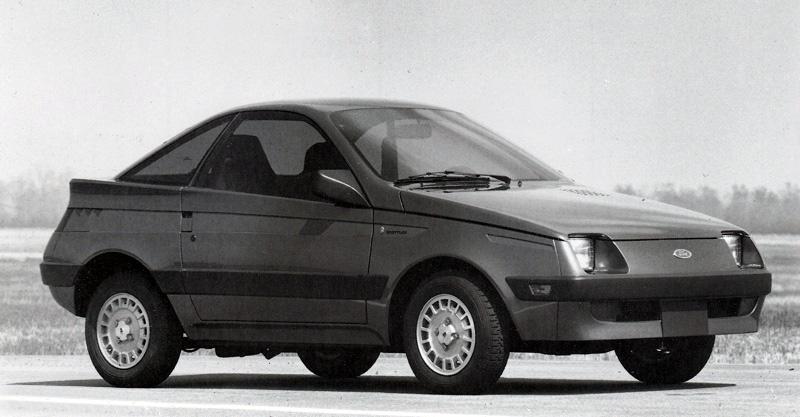 Ford Fiesta Shuttler Ghia de 1981