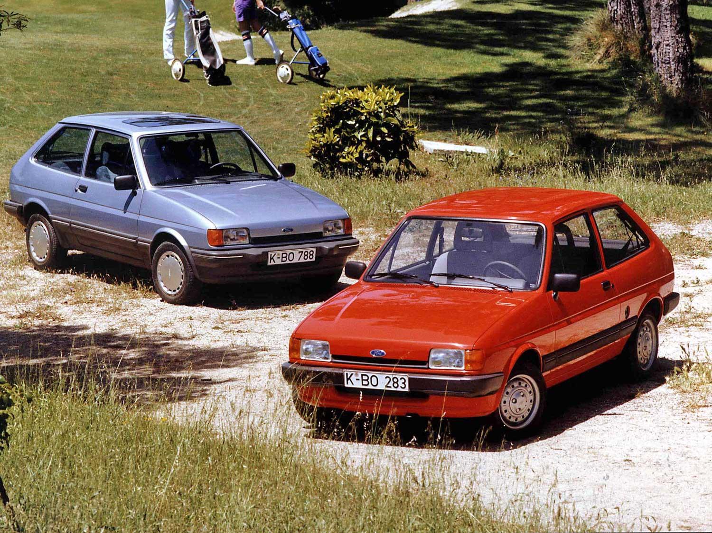Modelos de Ford Fiesta de 1983