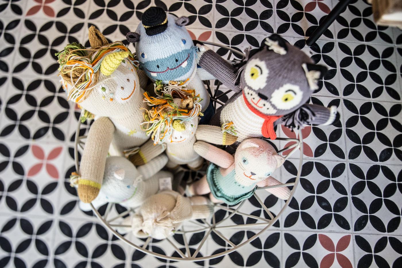 Muñecos de Casa de Fieras