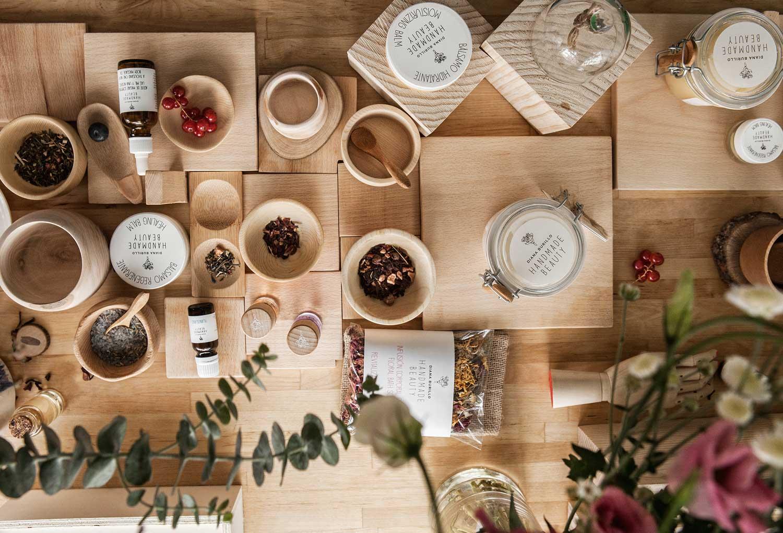 Productos de Handmade Beauty