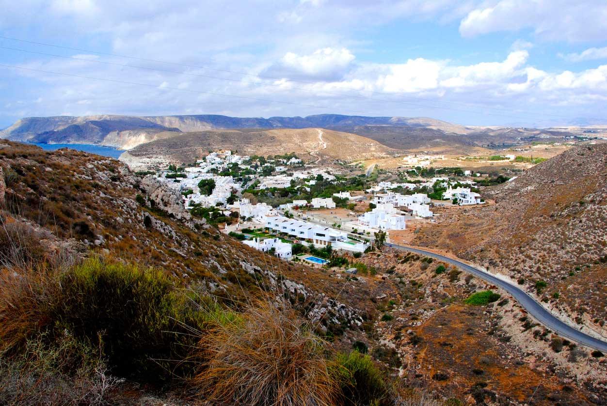 Vista aérea de la provincia de Almería