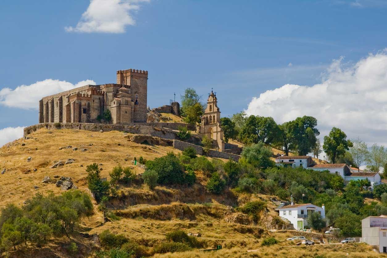 Castillo fortaleza de Aracena