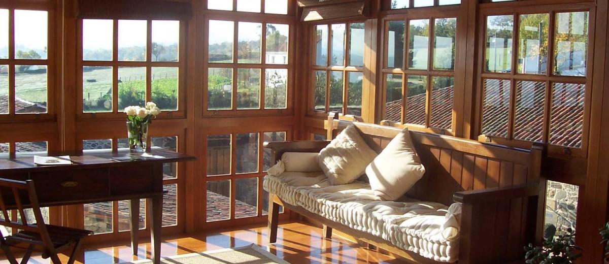 Interior en el Pazo a Freiria