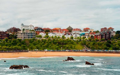 Vista de Santander desde el mar