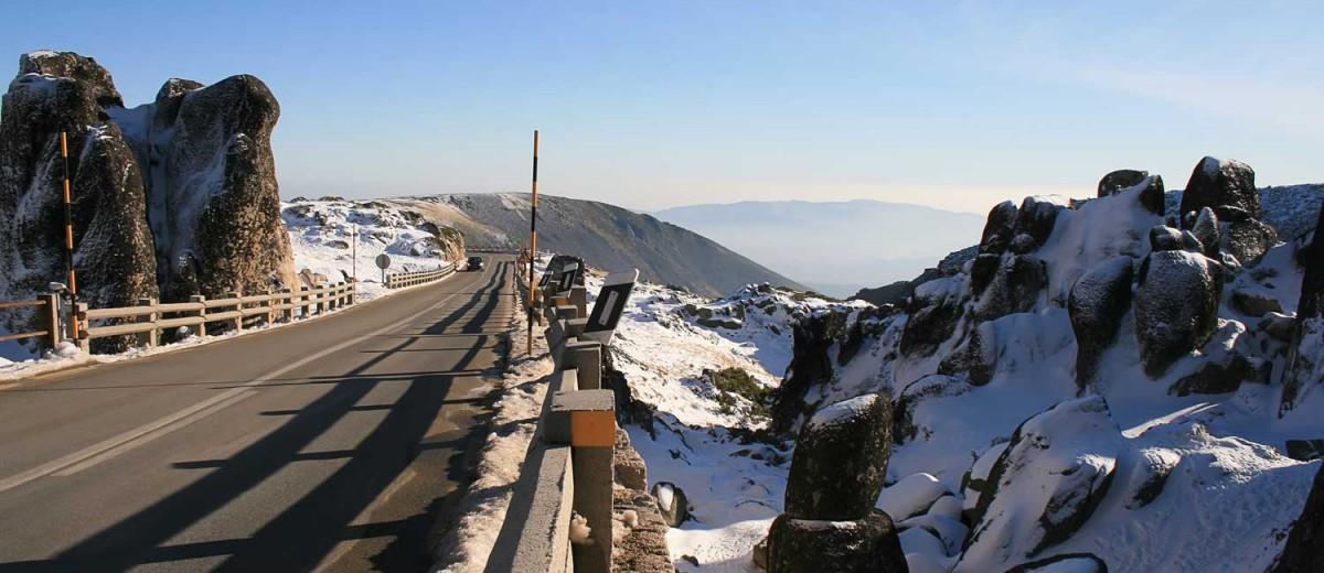 Carretera en la Serra da Estrela. ©Paulo Resende, istock