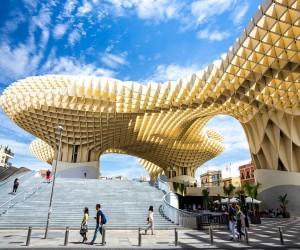 Metropol Parasol en Sevilla. Foto de vichie81, istock
