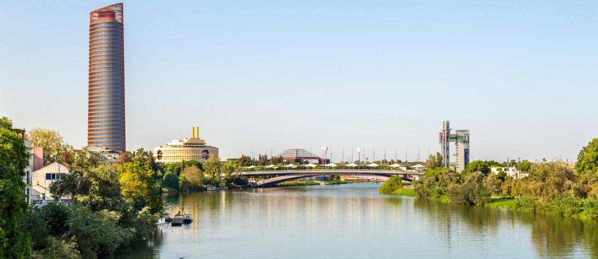Skyline de Sevilla. Foto de Leonid Andronov, istock