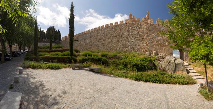 Jardines Moshe León, Ávila ©foto red de juderías