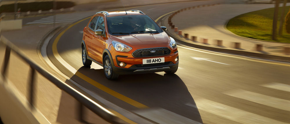 Frontal del Ford Ka+ Active
