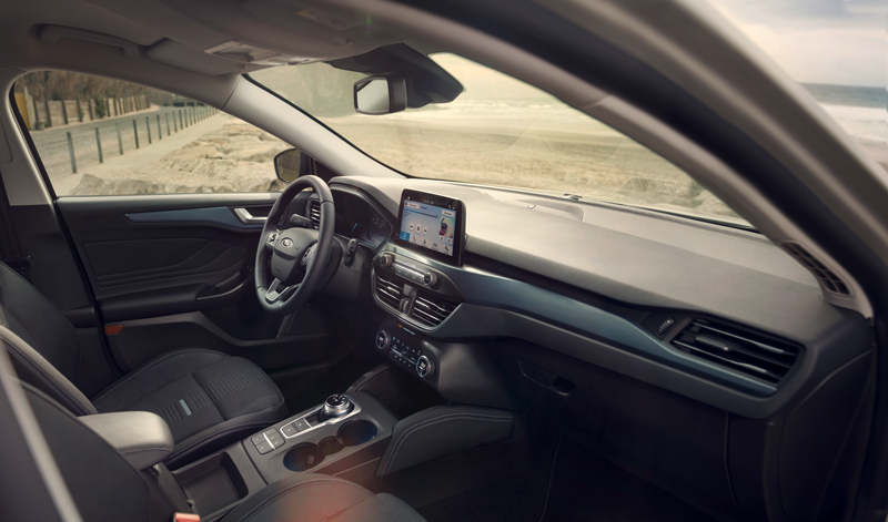 Interior del Ford Focus 2018 Active