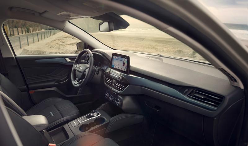 Interior del Ford Focus 2018 Active
