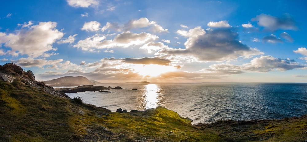 Atardecer desde la costa de Ferrol ©istock