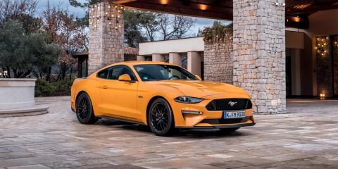 Ford Mustang 2018 Orange Fury