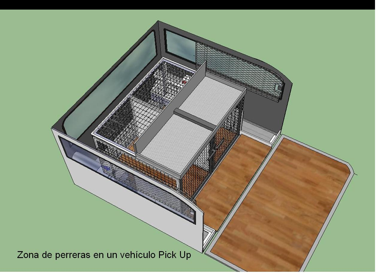 Diseño de una furgoneta con seccionado arcos ©Adolfo García