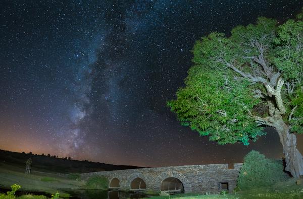 Vïa Lactea fotografiada desde Cantalojas / ©iStock, ©Alberto Molinero