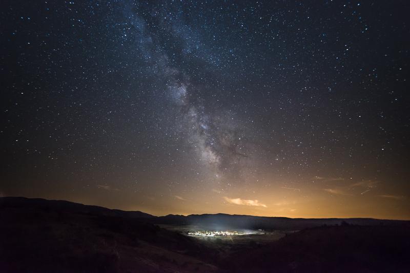 Noche en el municipio de Cantalojas / ©Cantalojas, ©Alberto Molinero